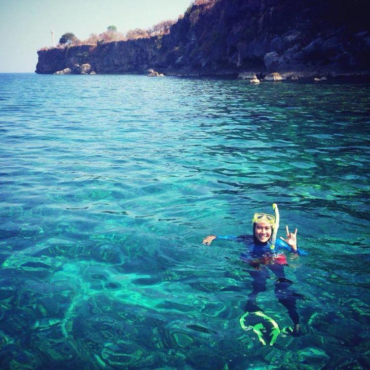 Snorkeling juga asyik!
