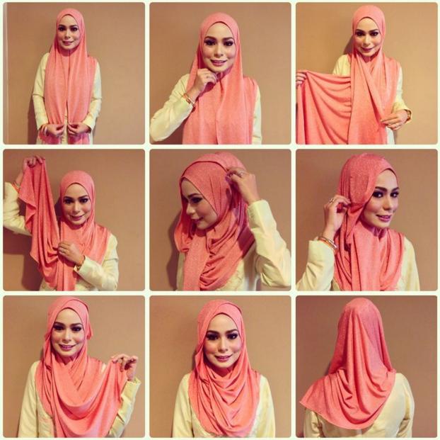 7 Gaya Hijab Menutup Dada Yang Bisa Kamu Pakai Di Acara Wisuda