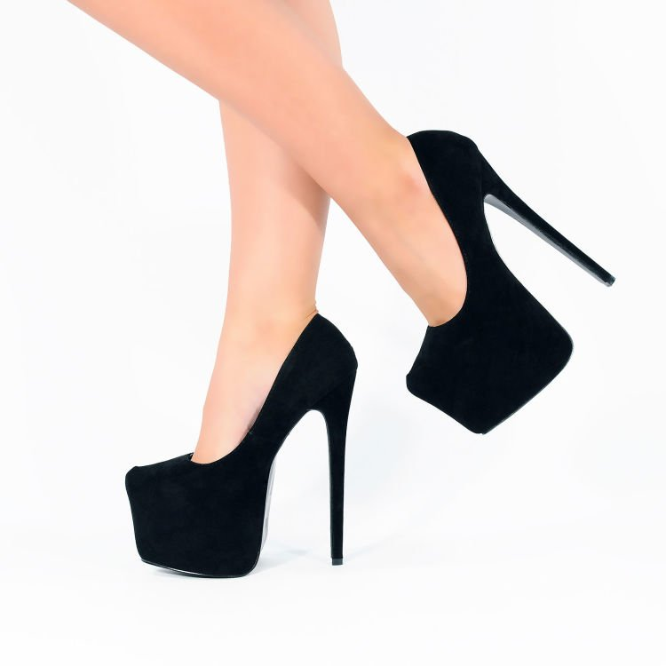 WOMEN-font-b-SHOES-b-font-Sexy-Pointed-Toe-Wedges-Platform-Stiletto-HIGH-HEELS-CORSET-STYLE