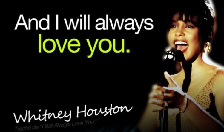 I Will Always Love You...