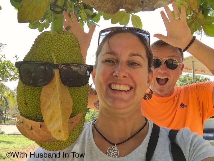 Amber dan suami lagi di Langkawi. :O