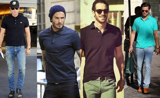 mz mz ganteng juga suka pakai polo shirts