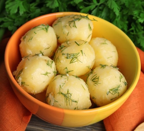ganti nasi dengan kentang