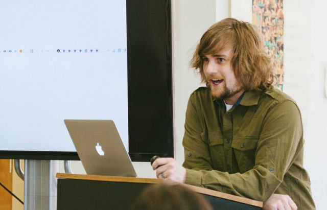 Meet Brad Frost. He's a front-end developer from Pittsburgh