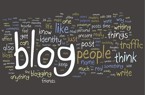Ilustrasi cara promosi karya tulis di blog