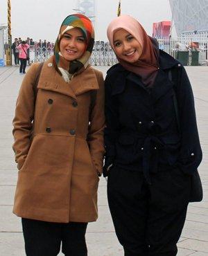 Gimanapun juga, model jilbab inilah yang 'gue banget?'