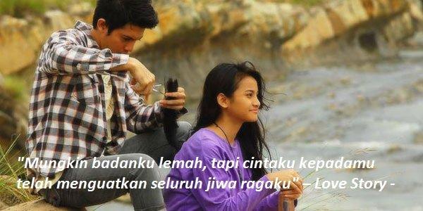 9 Kutipan Romantis Dari Film Indonesia Bisa Jadi Referensi Buat Gombalin Gebetan Atau Pacar