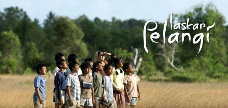 Laskar Pelangi, film inspiratif yang menyentuh hati.