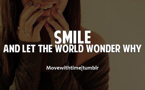 Ada 1000 Alasan Untuk Tersenyum Meskipun Juga Ada 1000