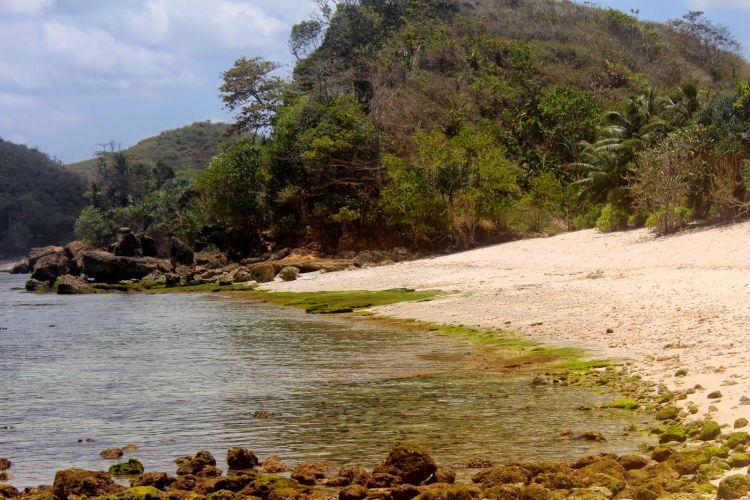 Salah satu pesisir Pantai Bengkung.