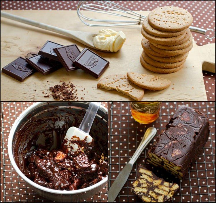 Kue Royal Biskuit Cokelat