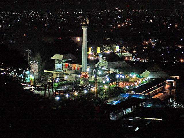 Taman Tabanas Gombel Bak Puncaknya Bogor Di Semarang