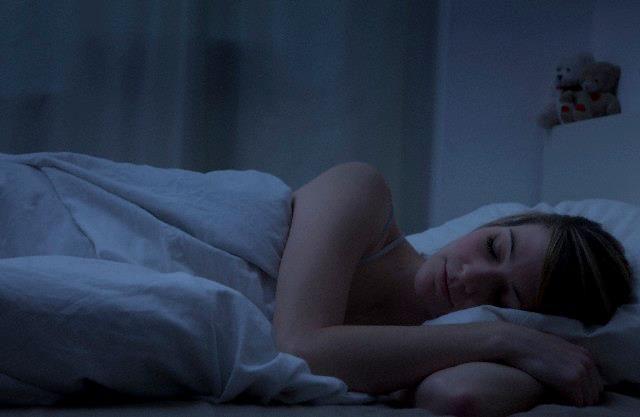 tidur gelap