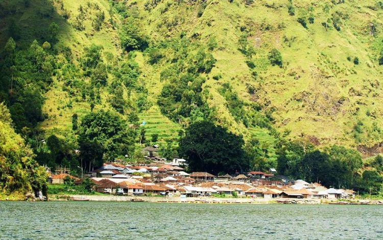 Penampakan Desa Trunyan.
