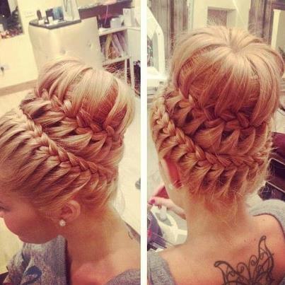 daripada rambut panjangmu tergerai berantakan