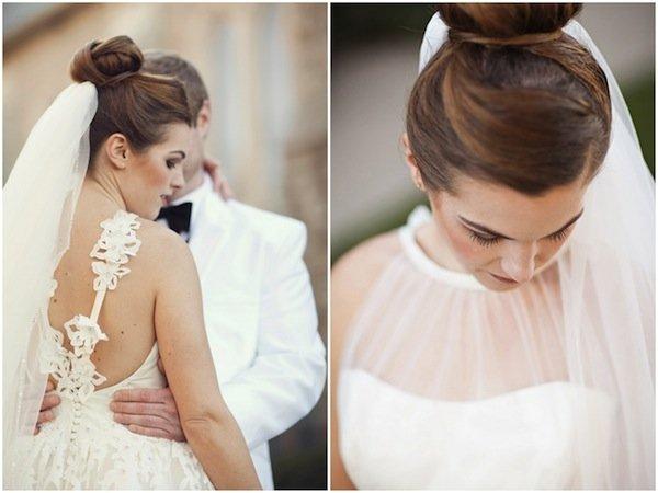 gini nih jadinya kalau pakai baju pengantin