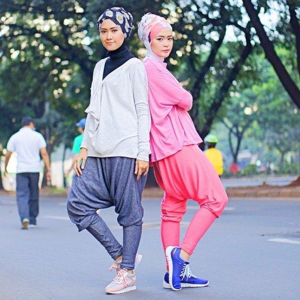 7 Style Hijab Buatmu Yang Mau Nyaman Berolahraga Gak Pakai Ribet Ya