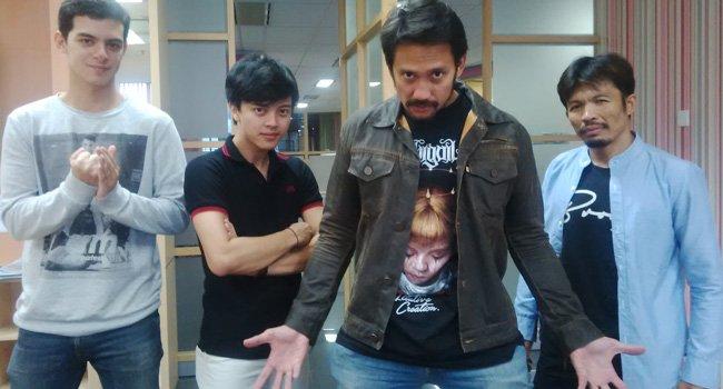 Cecep Arif Rahman pun turut membintangi film ini. Bersama juga dengan Tora Sudiro, Cut Mini, dan Ciccio Manassero.