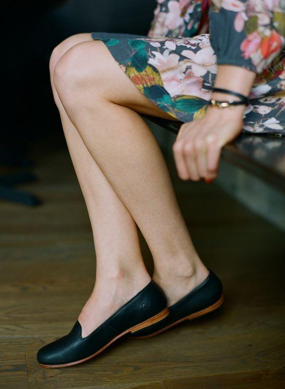 Loafer yang resmi dan multifungsi