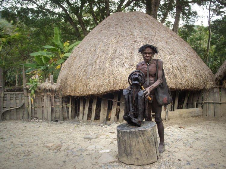 Mumi paling terkenal di Lembah Baliem