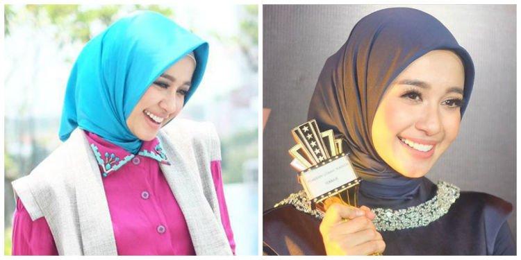 hijab satin lebih cantik @laudyacinthyabella