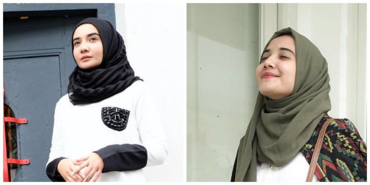 hai pipi tembem! pilih hijab chiffon aja yuk