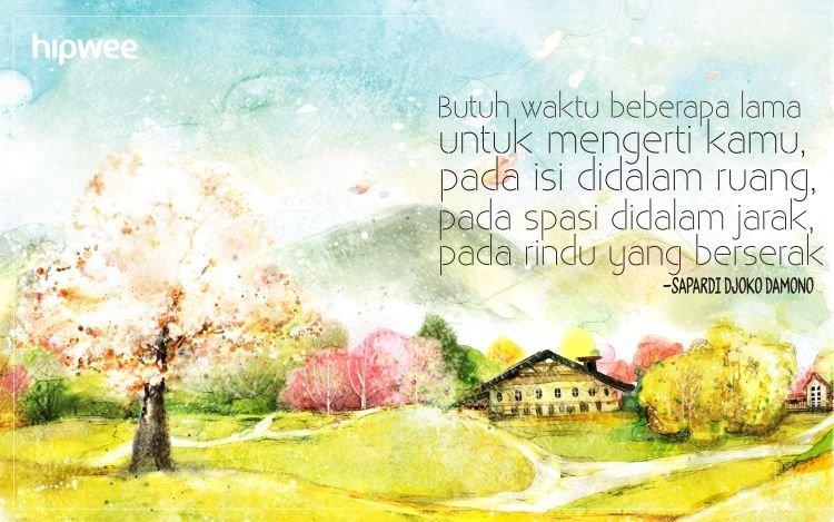 Quote Sapardi
