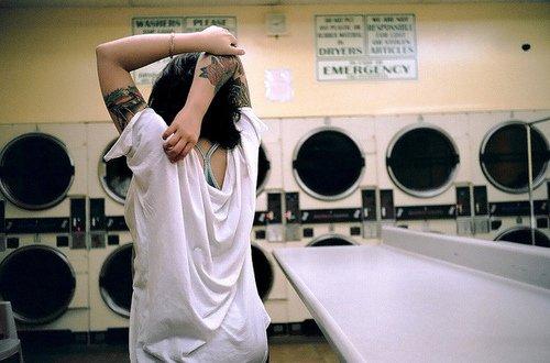 Cuci baju biar semangat lagi