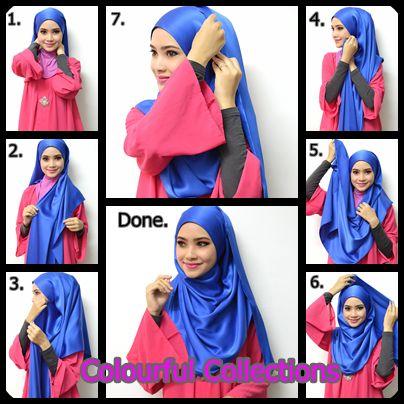 11 Tutorial Hijab Menutup Dada Sopan Anggun Dan Tetap Bersahaja