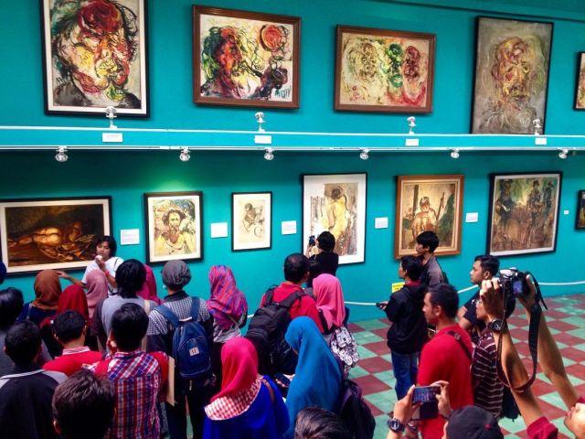Kunjungan Ke Museum Affandi