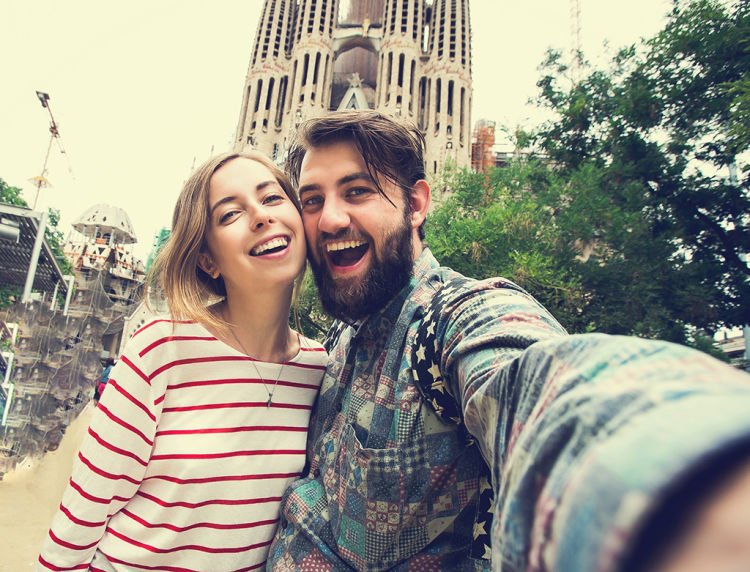 selfie juga mampu menunjukkan kemesraan