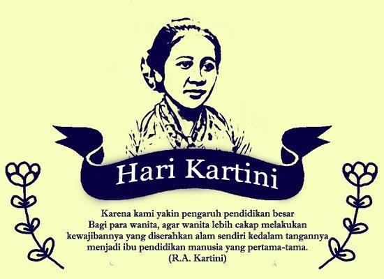 berterimakasih pada Ibu Kartini