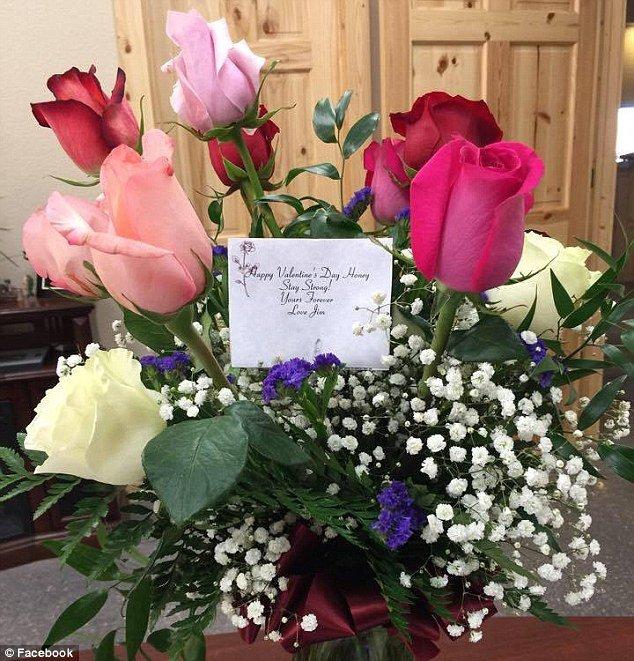 kasih note dalam bungamu