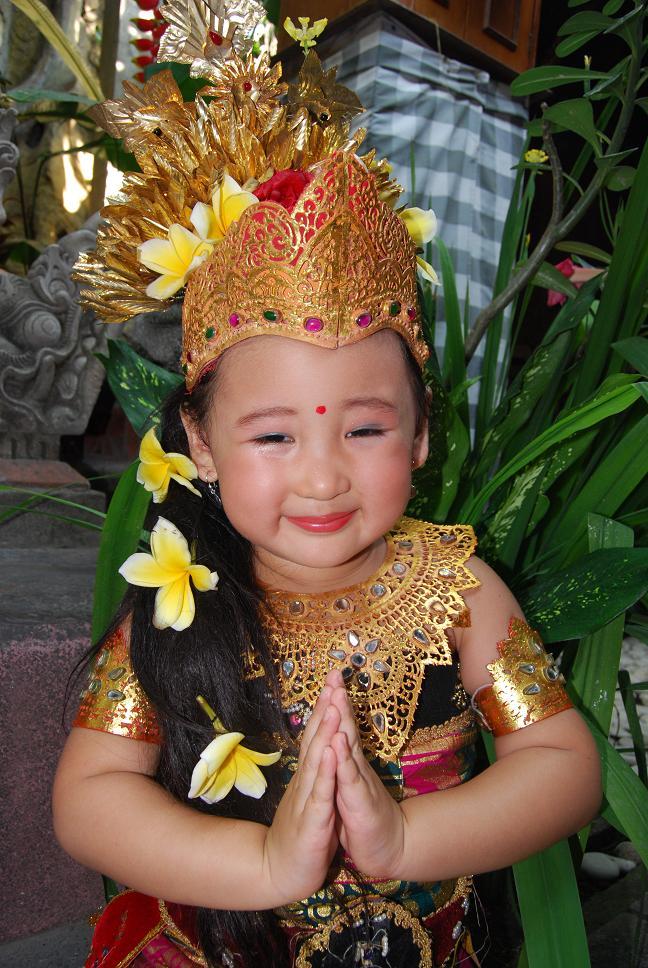 Gadis Bali lucuk