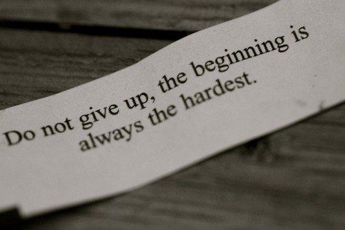 Jika gagal, kamu hanya perlu menata hati.