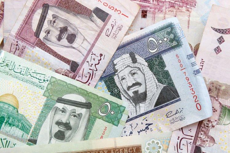 Modern Saudi Arabia money.