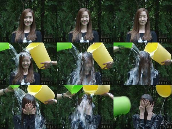 YoonA ALS Ice Bucket Challenge
