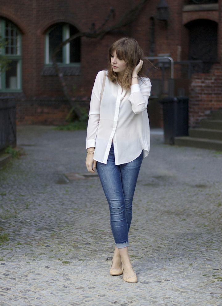 blouse sama jeans lebih elegan