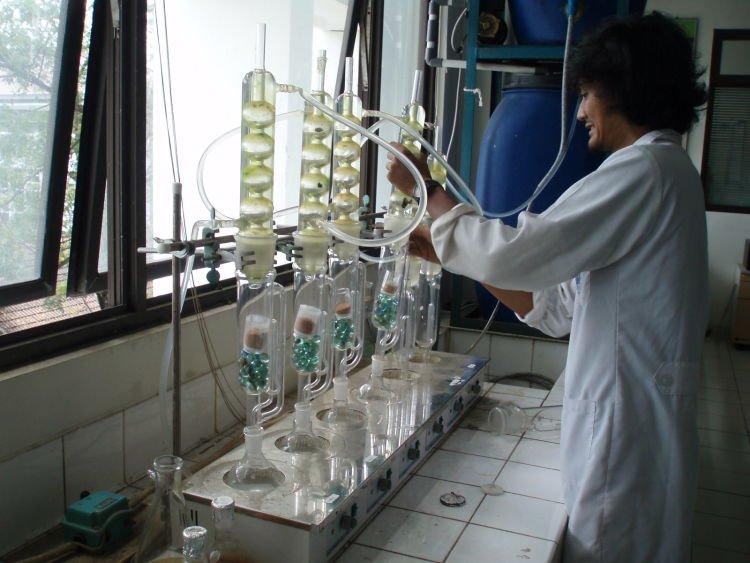 Laboratorium penuh kenangan penelitian