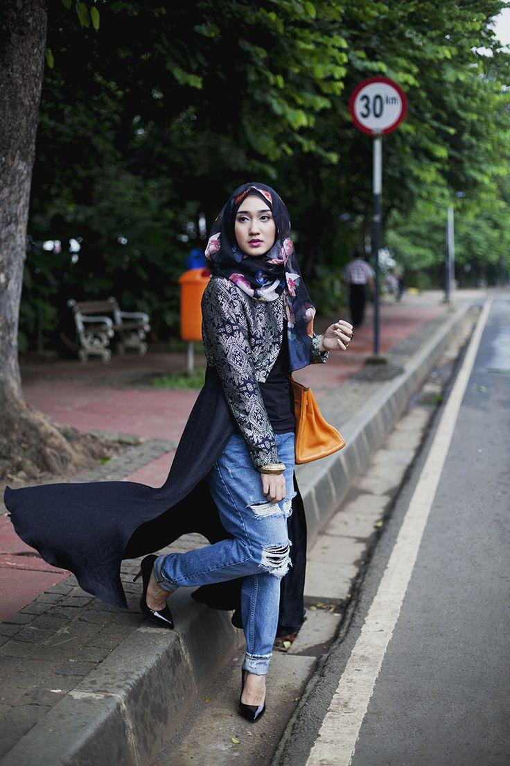 Nggak ada kata nggak cocok untuk pakai jilbab