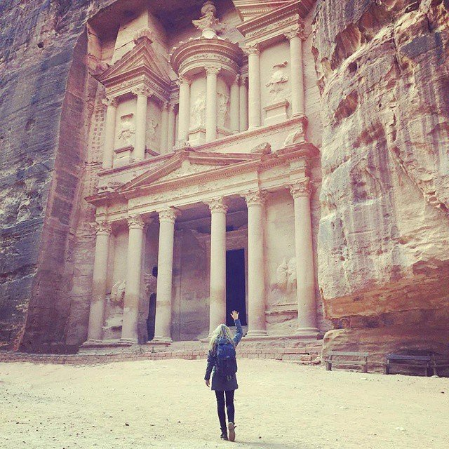 Hari kedelapan: Petra, Yordania.