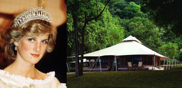 Di penginapan berbentuk tenda inilah Lady Diana pernah bermalam di Pulau Moyo.