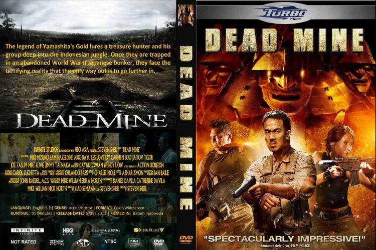 Cover CD film Dead Mine 2012.