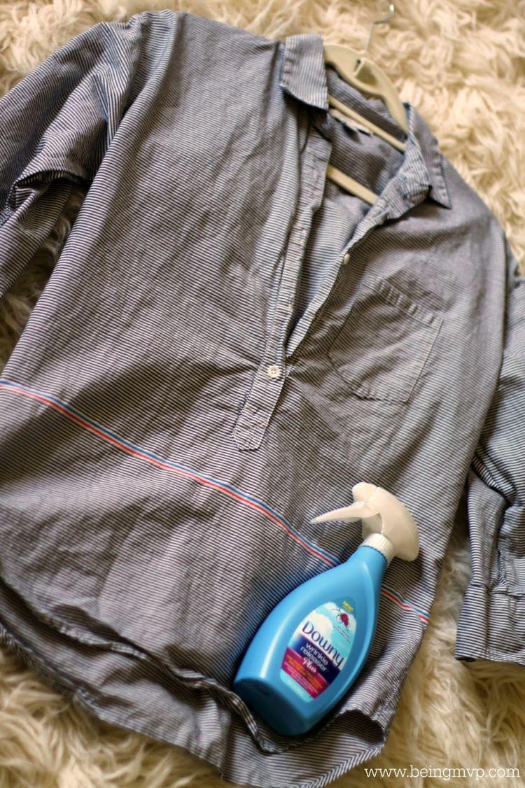 Cara kilat supaya baju bebas kusut