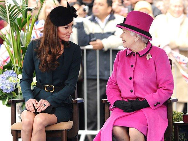 Kate Middleton & Queen Elizabeth