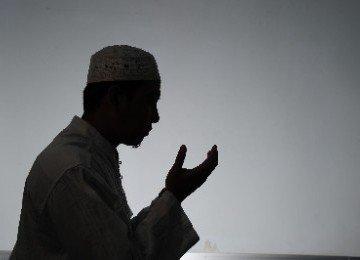diam-diam saling mendoakan