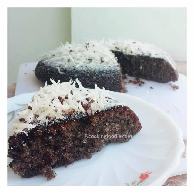 oreo cake dipanggang di teflon