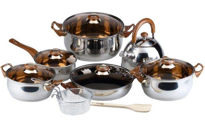 Seperangkat alat masak untuk mas kawin, tinggal dihias dikit juga cantik