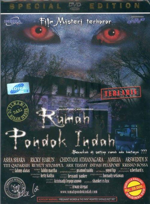 Cover DVD film Rumah Pondok Indah.
