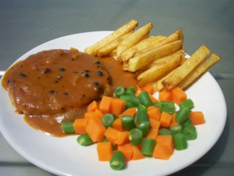 Steak Tempe :3